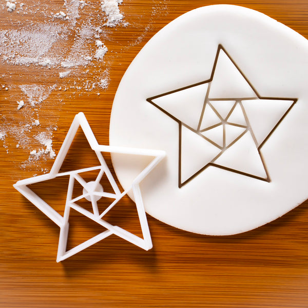 5 Sided Origami Star Cookie Cutter