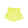 SHORTS PIXIE YELLOW BIO