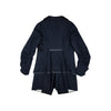 miss L. Ray Claude coat navy merino wool children and teen fashion