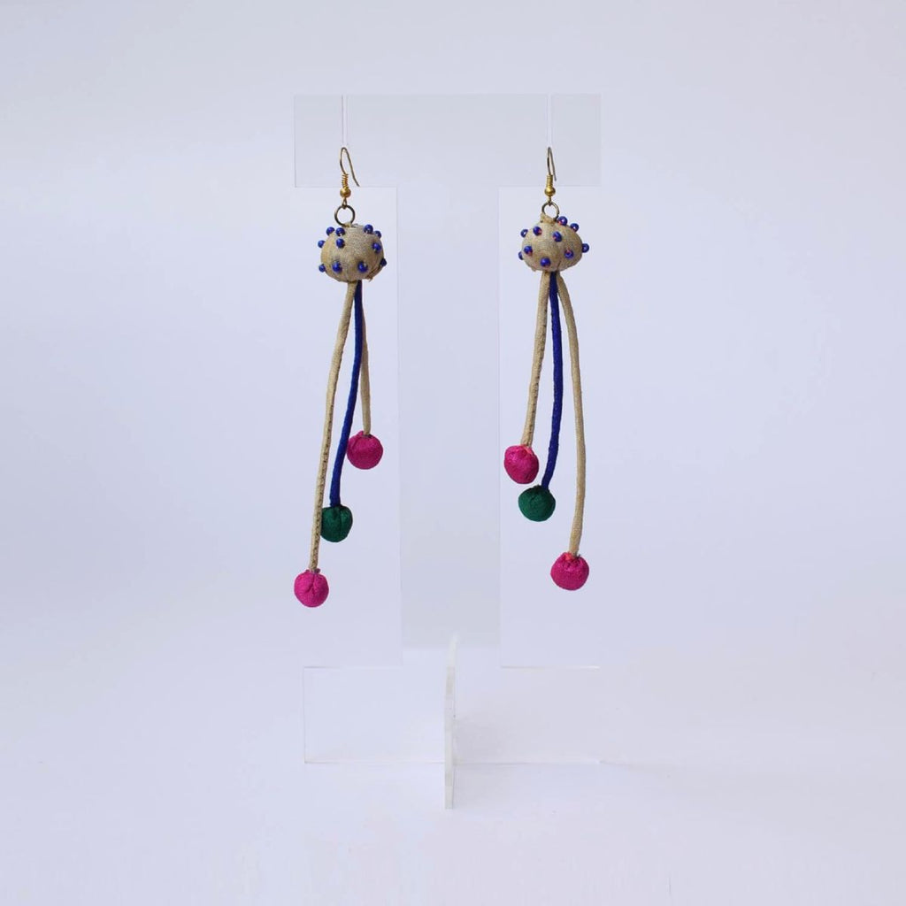 Aarchi Earrings-3 strings - AAR3-E3