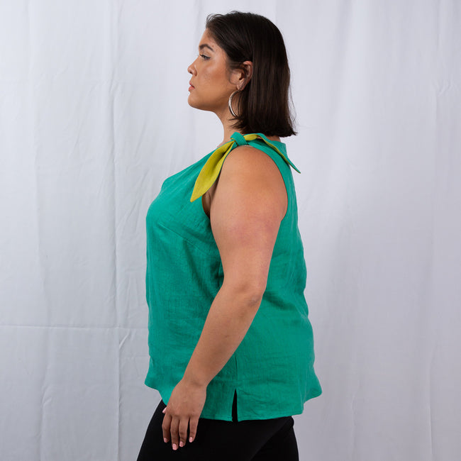 The Padma Tie Shoulder Tank
