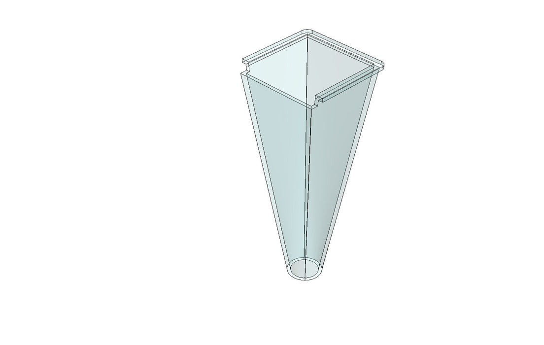 TB13377A DISPENSING CONE Ø12mm - King TB4 Spare Part