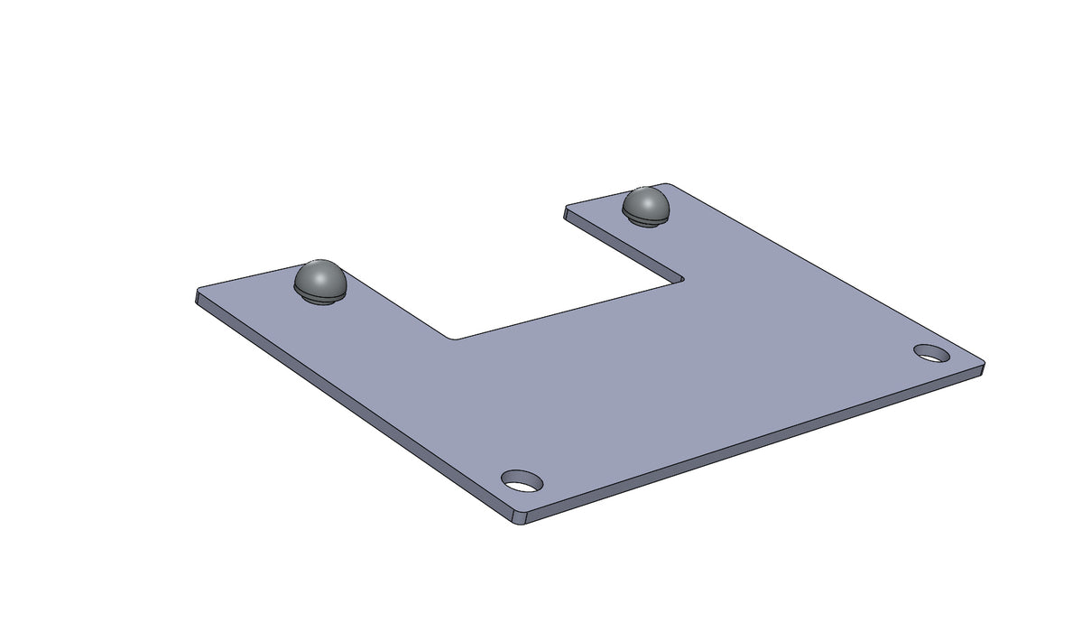 TC6272009A FUNNEL PLATE - King TC8 Spare Part