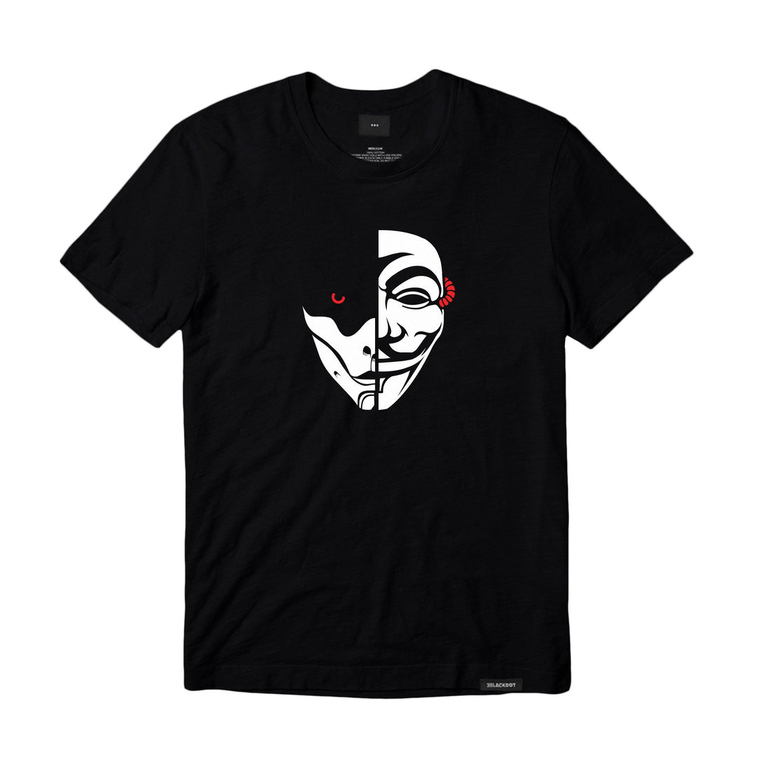"LT. ARMY™ | ""Anonymous x Watcher -Half Face"" Tee"