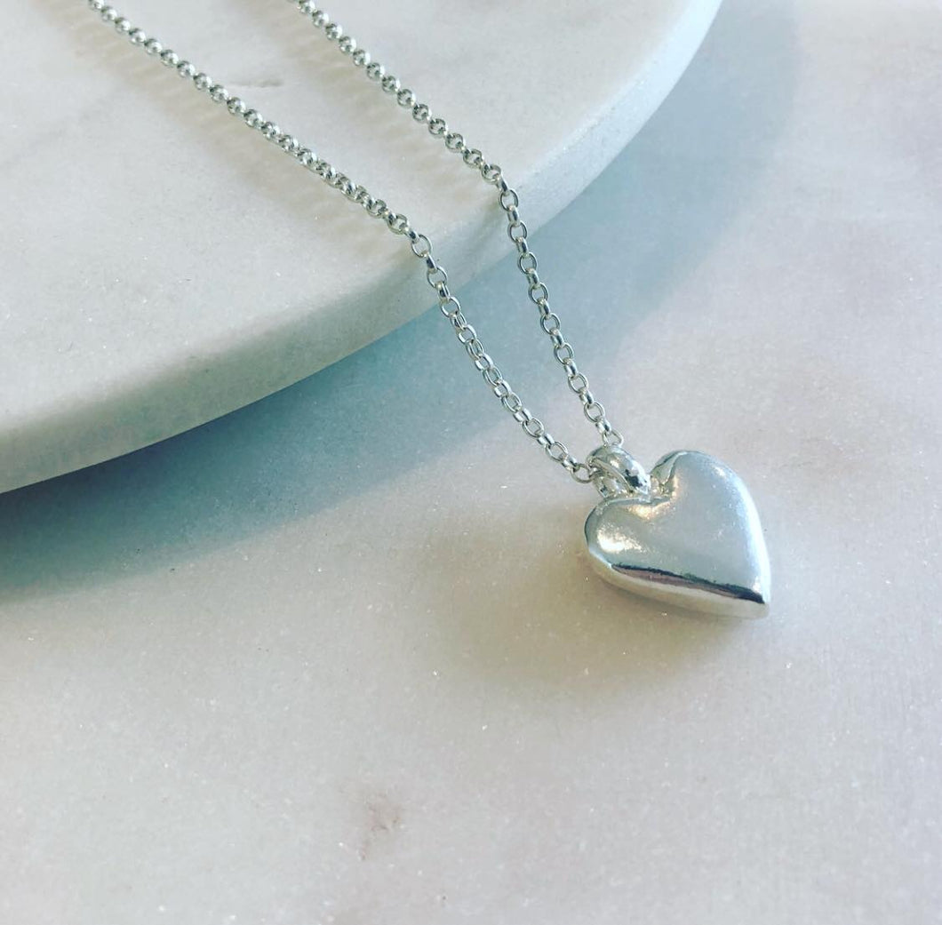 Large Heart Necklace