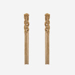 Braided Linear Waterfall Earrings - Etienne Aigner