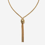 Braided Tassel Necklace - Etienne Aigner