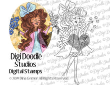 Digi Doodles Loves Me Loves Me Not Digi Stamp