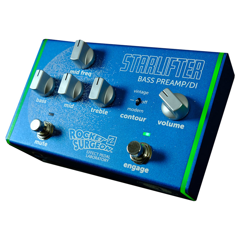 Pre-Order - StarLifter Bass Preamp/DI (Ships September 2019)