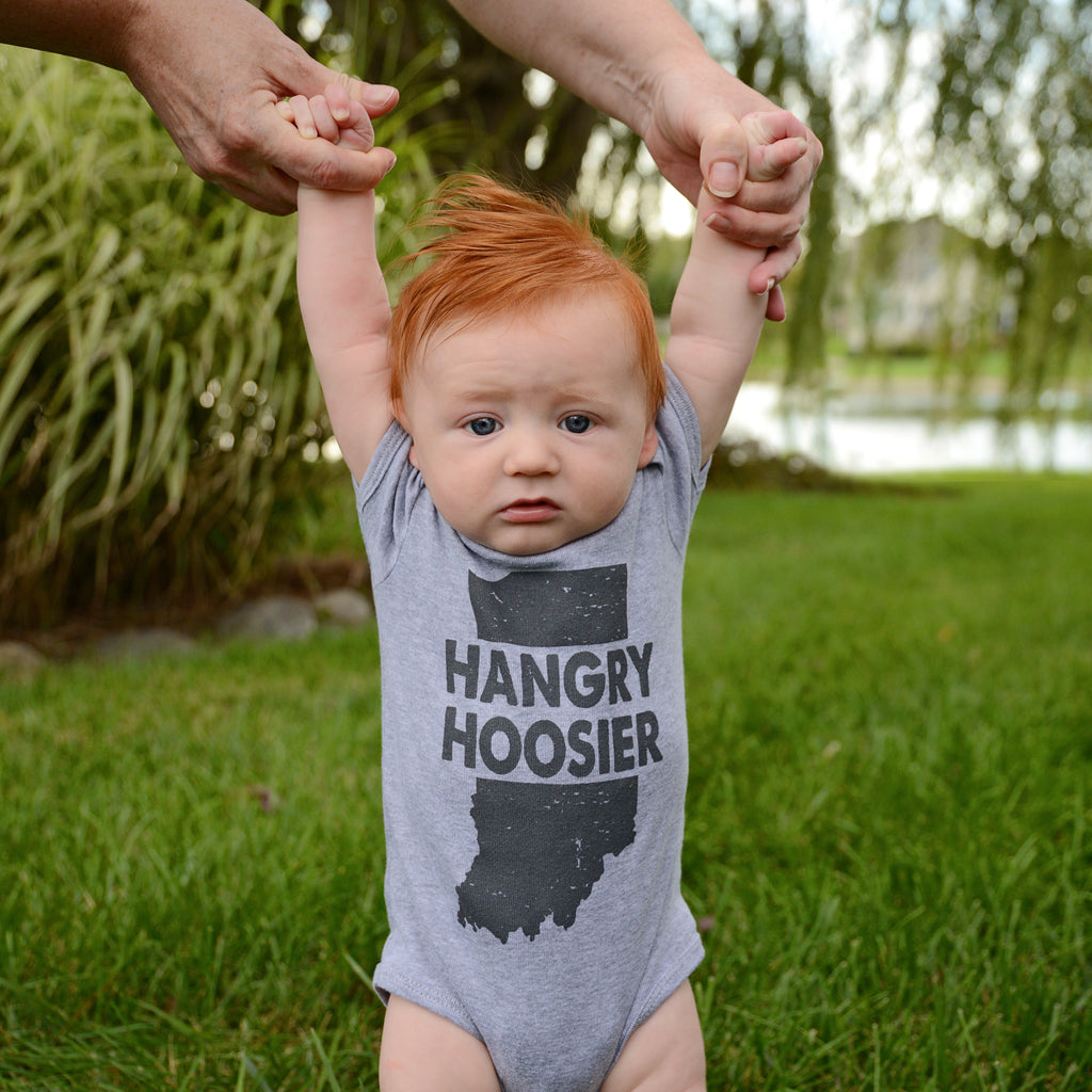 Hangry Hoosier Infant Onesie