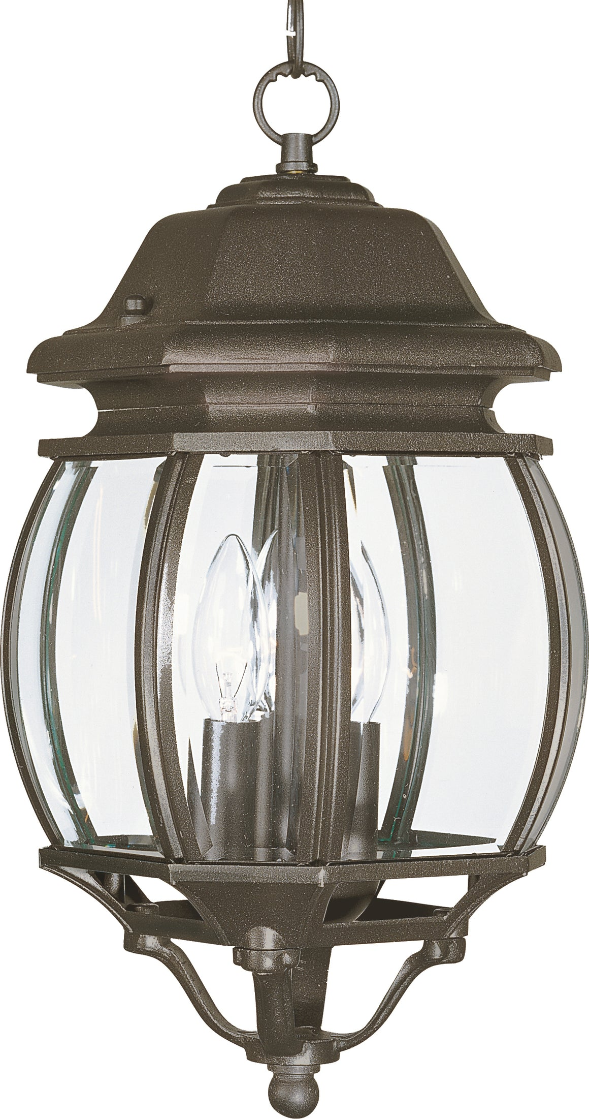 Crown Hill 3-Light Outdoor Hanging Lantern