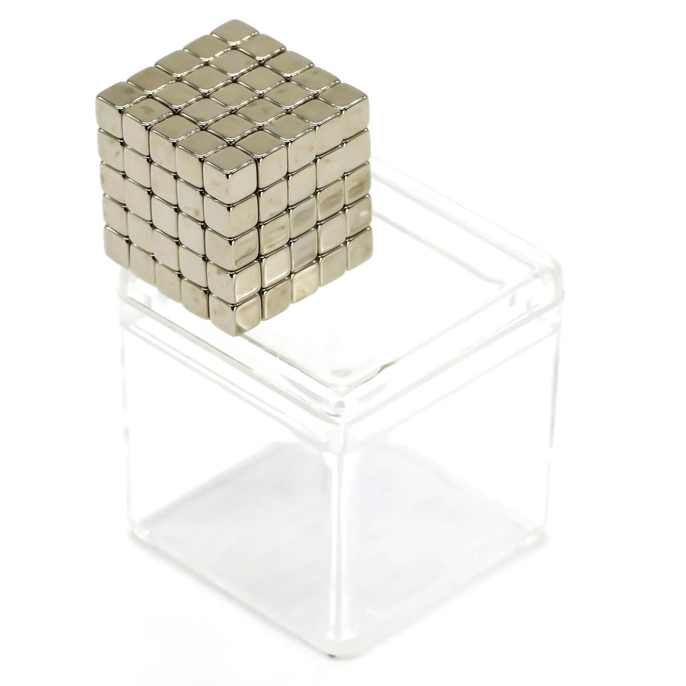 nickel neocubes sculpture magnet cubes