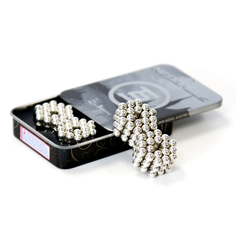 216 Nickel Neoballs Tin Set 5mm Magnet Balls
