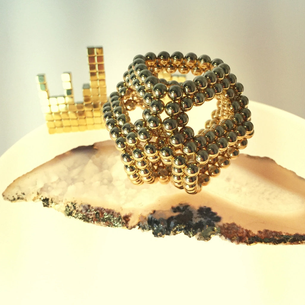 216 Set: 22k-Gold Neoballs