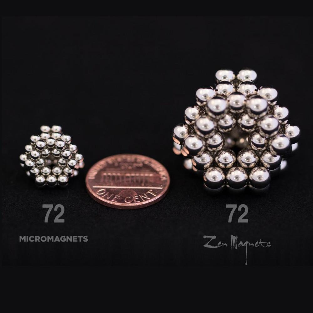 micromagnets compared to zen magnets