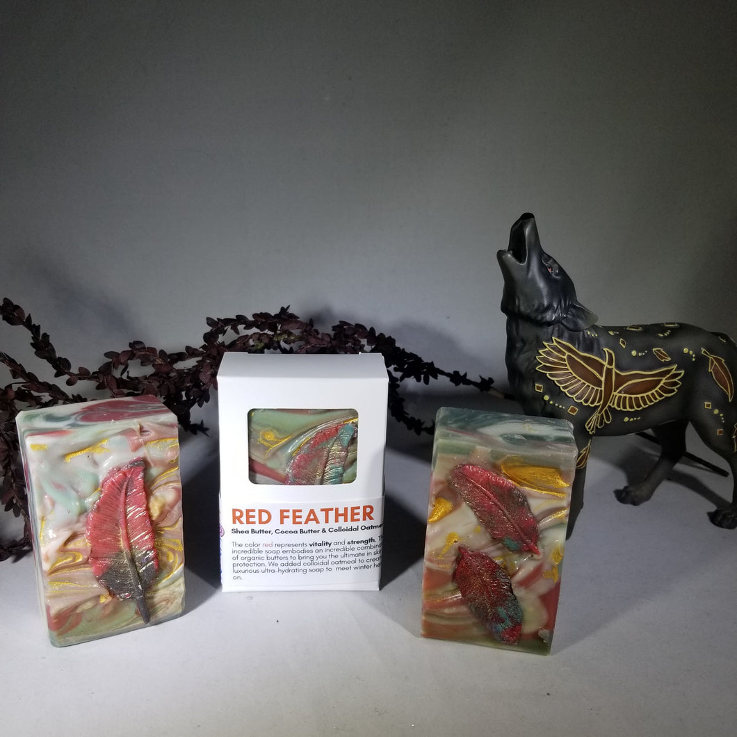 Red Feather  | Artisan Soap
