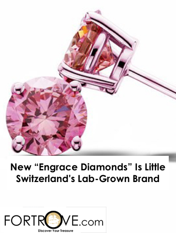"New ""Engrace Diamonds"" Is Little Switzerland's Lab-Grown Brand"