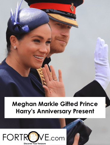 Meghan Markle Gifted Prince Harry's Anniversary Present