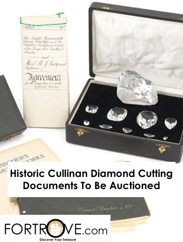 Historic Cullinan Diamond Cutting Documents To Be Auctioned