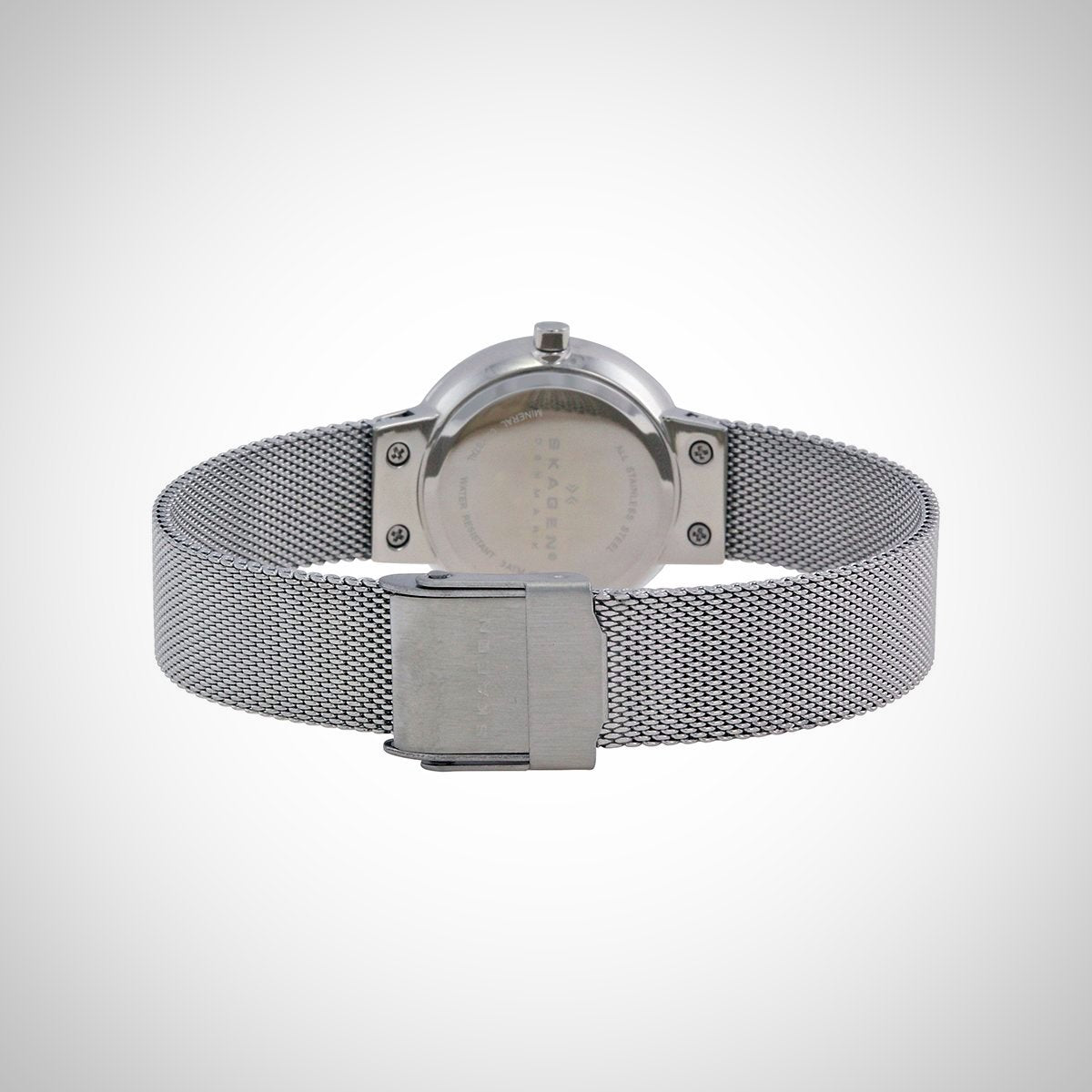 Skagen 456SSS Women's Quartz Silver Dial Analogue Display and Silver Stainless Steel Strap Watch