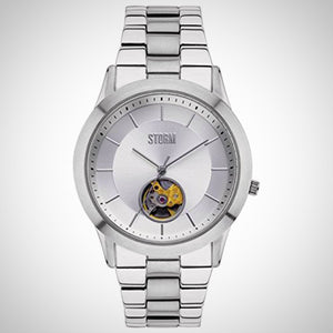 Storm 47259/S Sorena Silver Mens Automatic Watch