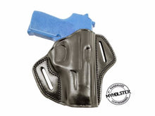 Steyr C9A1 Right Hand Open Top Leather Belt Holster, MyHolster
