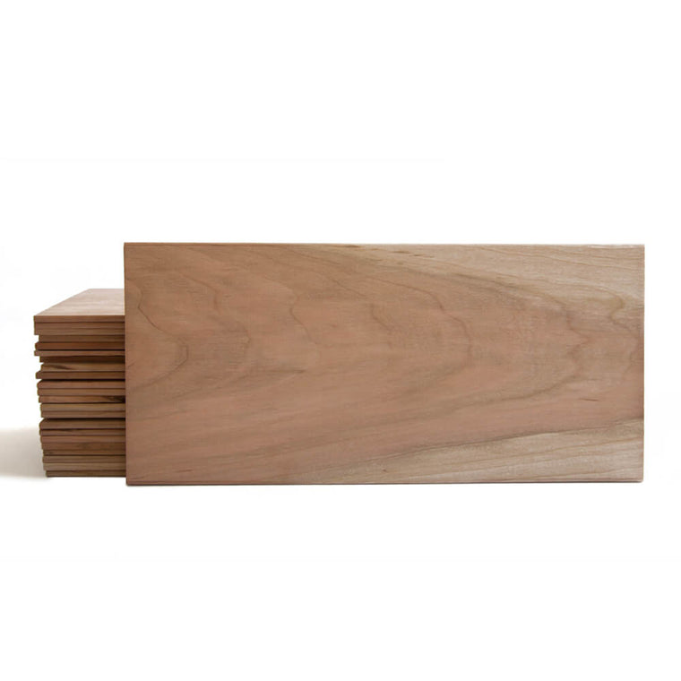 Large Cherry Quick Soak Grilling Planks - 7x15