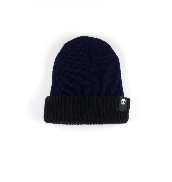 Two Tone Beanie Black
