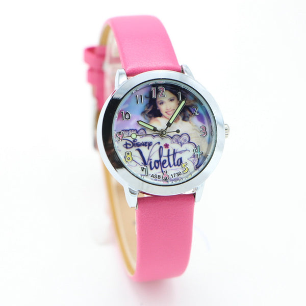 1pcs fashion Violetta Watches Children Kids girl Boys gift Minions Watch Casual Quartz Wristwatch Relogio Relojes - EnsoStore