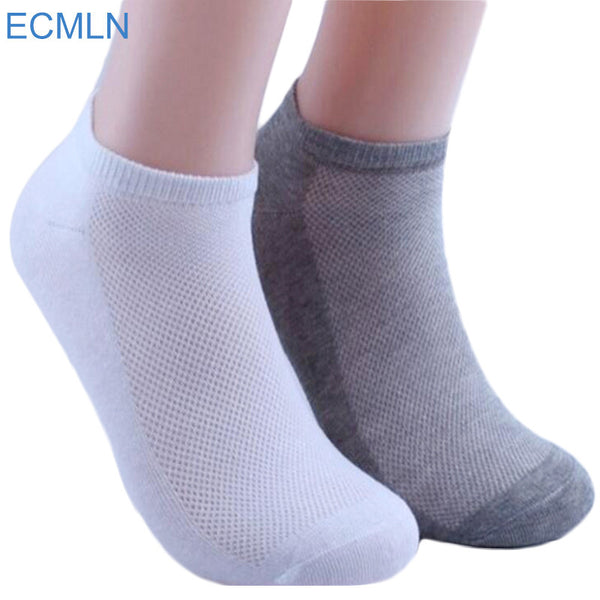 5Pairs Womens Socks Ankle Socks Summer Thin Boat Socks Female Solid White Gray Black Casual 3d Mens Ladies Socks Art Hot-Enso Store-Black-One Size-Enso Store