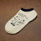 CAT Women's socks Ankle Low 1pair=2pcs WS66-Enso Store-ws59-One Size-Enso Store