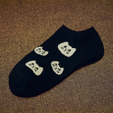 CAT Women's socks Ankle Low 1pair=2pcs WS66-Enso Store-ws65-One Size-Enso Store