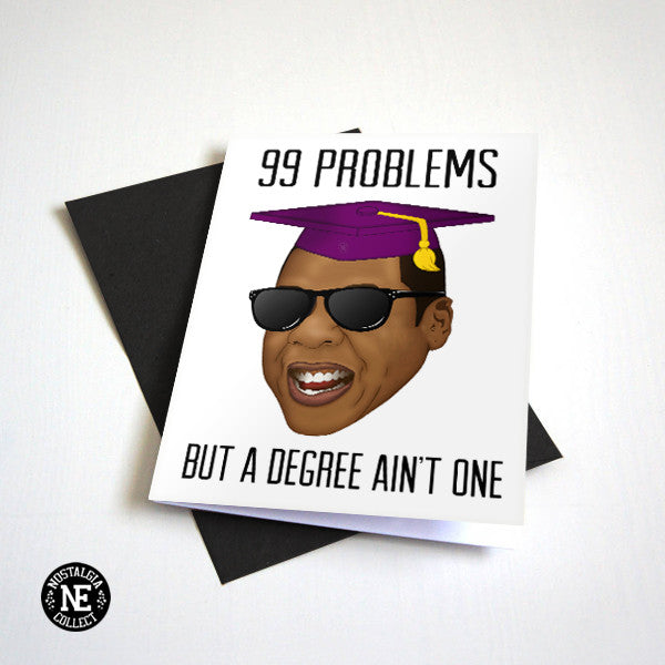Jay Z Graduation Card