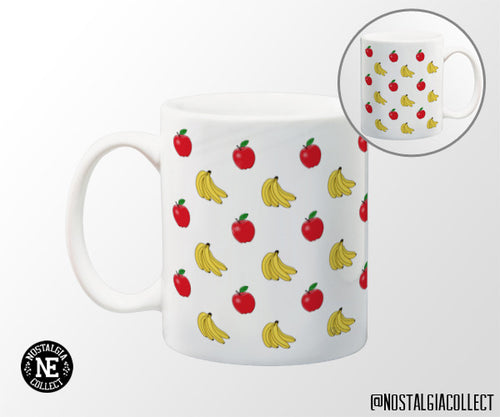 Apples and Bananas 11 oz Coffee Mug