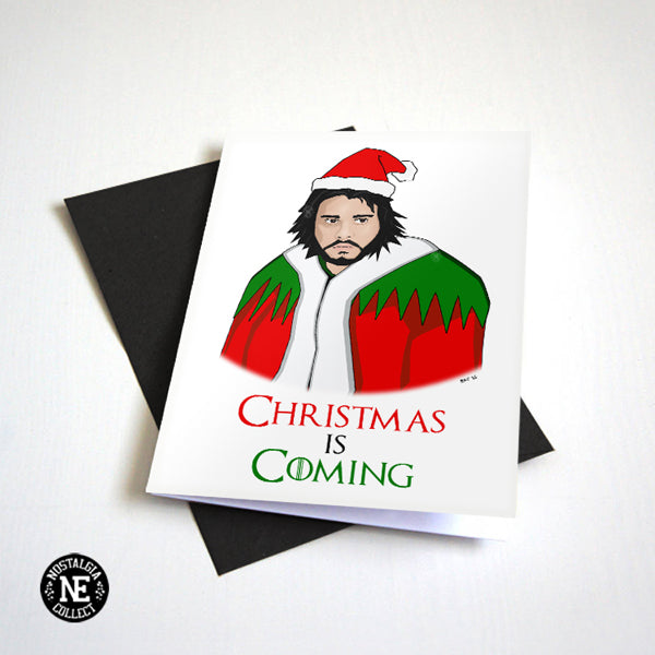 Christmas is Coming - The Game of Christmas Card