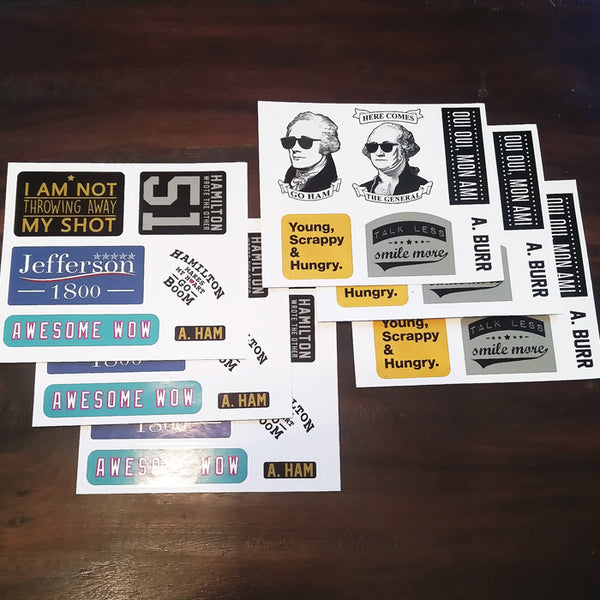 FREE - Go Ham or Go Home 6-Pack Sticker Set
