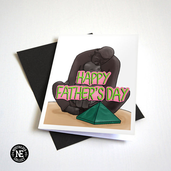 Happy Father's Day Card - Father and Child