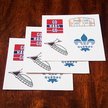 Montreal Landmarks and Icons Sticker Set - 6 Pack