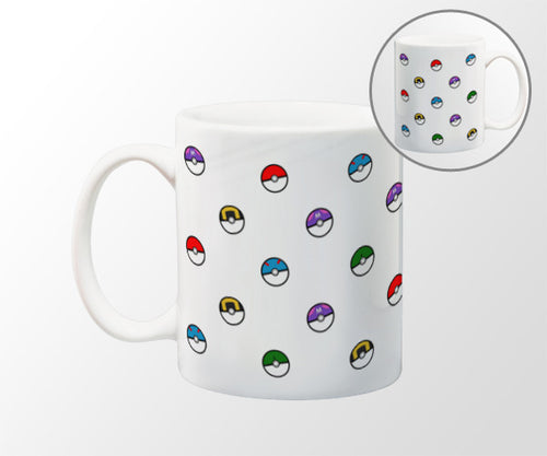 Retro Video Game Pattern Coffee Mug - 11 oz Coffee Mug