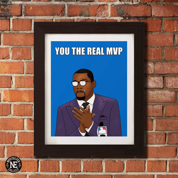 You The Real MVP - Motivational Basketball Sports Poster