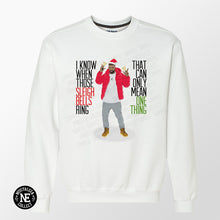 Sleigh Bells Ring Ugly Christmas Sweater