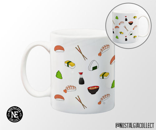 Japanese Sushi Pattern 11oz Coffee Mug