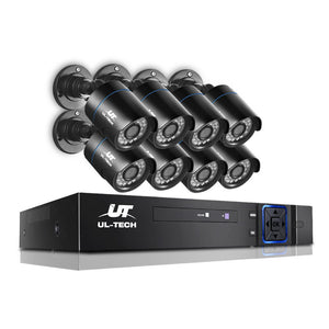 Lara - UL Tech 1080P 8 Channel HDMI CCTV Security Camera - HomeSimplicity