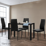 Astra 5-Piece Dining Table & Chairs Set demo picture