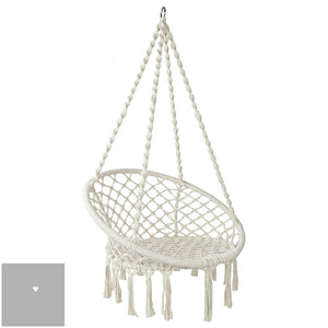 Round Hammock Swing Chair - 2 Colours - HomeSimplicity