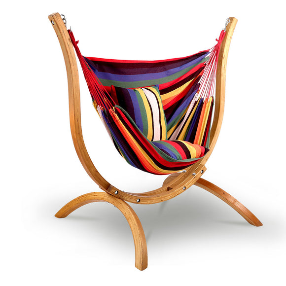 Rainbow Hammock Chair - HomeSimplicity