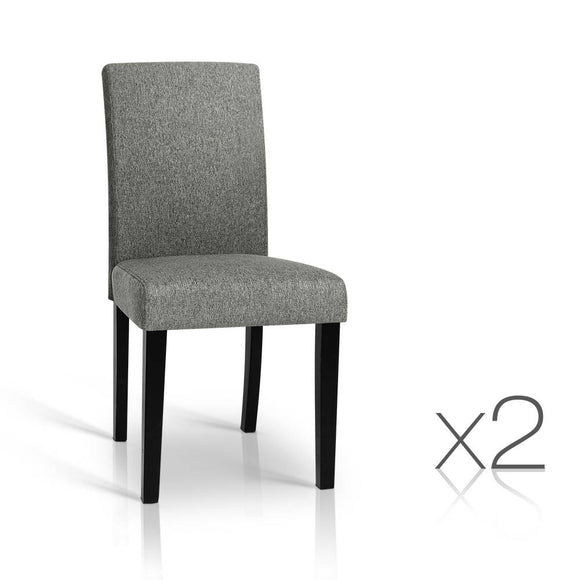 Zion Fabric Dining Chairs (Set of 2)