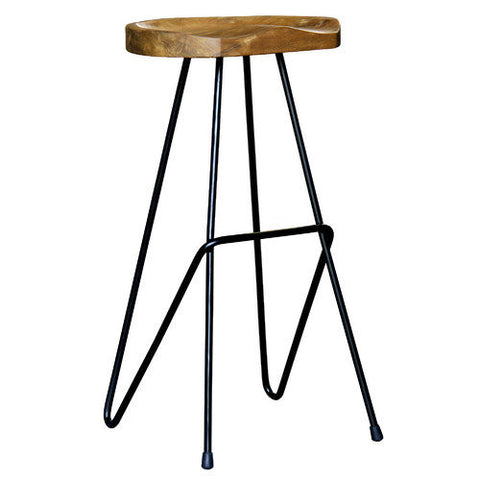 Chicago-Saddle+Shape+Iron+Barstool