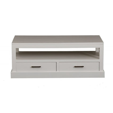 Holland Coffee Table 4 Drawers 1 Bottom Shelf White Colour TEK168CT 004 HSR FL