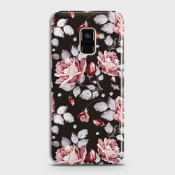 SAMSUNG GALAXY A8+ (2018) Blush Rose Flowers Case